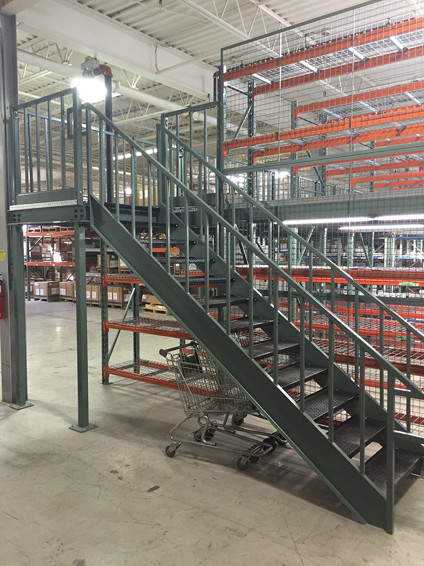 Shelf Supported Storage Platform - Space Aid Manufacturing
