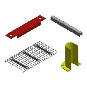 UNIRAK PALLET RACKING ACCESSORIES