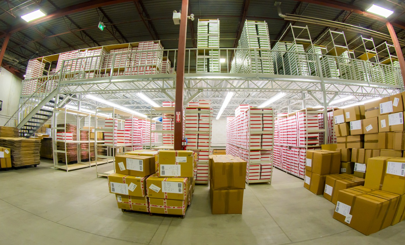Mezzanine Racking - Space Aid Manufacturing
